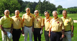 Seniorenmannschaft 2011 in Konstanz. Golf-Club Freudenstadt. Foto Rainer Sturm stormpic.de