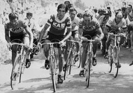 Puy-de-Dome avec Poulidor,Galdos,Van Impe, Zoetemelk