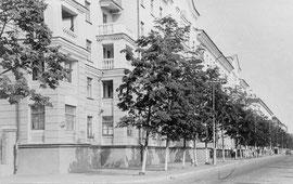 Сталинские дома на проспекте Ленина