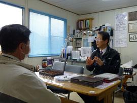 有限会社シオンの山田は営業もします。