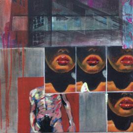 """""""4 Plakate"""" Arbeit Franziska Kuos aus dem Jahr 2013"""
