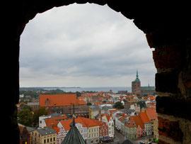 Stralsund im Regen