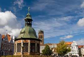 Marltplatz in Wismar