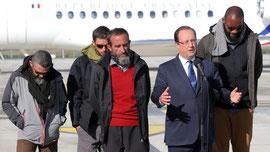 libération de 4 otages