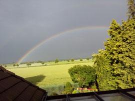 Deutsches Wetter mit schönen Nebenerscheinungen