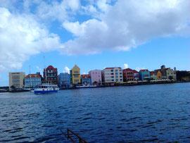Altstadt von Willemstad auf Curacao