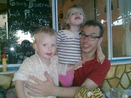 Punkerbraut Winnie, mit Schwester Wanda und Papa Torsten