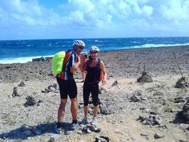 Sabine und Andreas auf Aruba