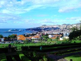 Funchal von oben