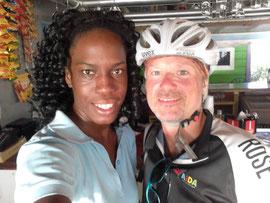 Abschied von Barbados mit Janine