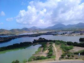 Sumpfland auf Isla Margarita