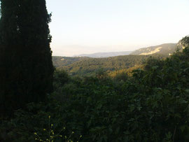 Blick über den Norden Korfus