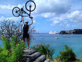 Posing auf Grenada