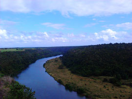 Fluss Chavon bei La Romana, Domrep.