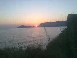 Immer wieder schön, diese Sonnenuntergänge