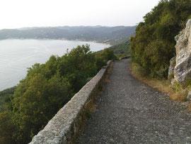 Eselspfad von Agios nach Paleokastritsa