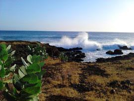 Küste von Santiago bei Praia