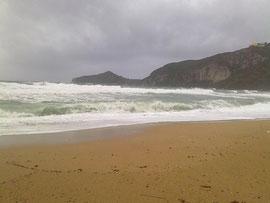 Sturm über Agios Georgios