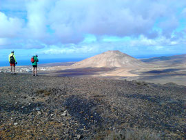 In den Bergen von Fuerteventura
