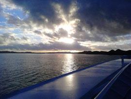 Sonnenaufgang auf Antigua