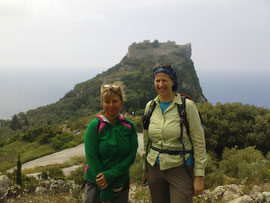 Wandern am Angelokastro
