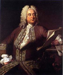 Georg Friedrich Händel (zeitgenössisches Porträt)