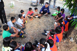 活動を通して違う地域の子どもたちも皆仲良し!
