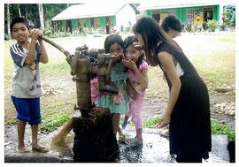 この水は「子供の森」計画の森がくれたプレゼント