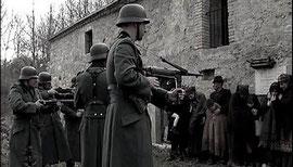 In questa foto: Lorenzo Di Sante nel ruolo di un soldato del Terzo Reich