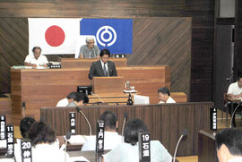 市議会6月定例会が開会した(12日午前)