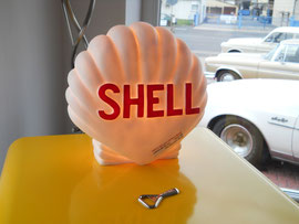 "Retrolampe im ""Shell Muschel"" Design"