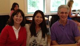 2012年Brian Weiss 博士・Carol Weiss夫妻と。