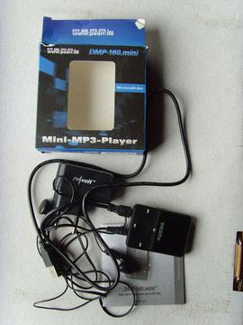 Mini-MP3-Player, Pearl.de DMP-160.mini, klicke auf das Bild zur Vergrößerung, <Esc> -Verkeinerung