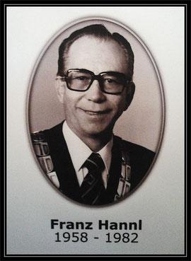 Altbürgermeister Franz Hannl