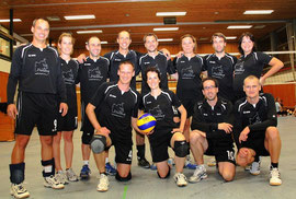 Gruppenfoto Volleyball Mixed