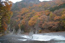 吹割の滝 紅葉 2014