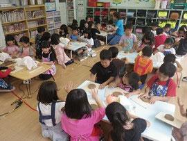 学童保育 出張陶芸教室