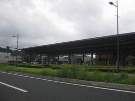 現在の宇品港 ターミナルの向こうは瀬戸内海