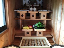 袋原神社の特殊神饌