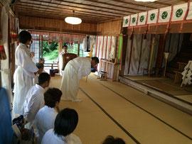 賀茂神社 宮司による奉幣行事の実例