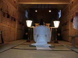 武蔵野御陵の遥拝式