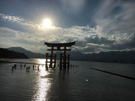 厳島神社の波除鳥居