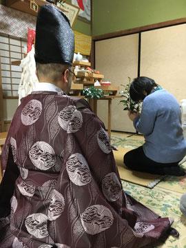 日待祭2玉串拝礼