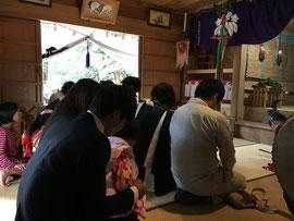 高圀神社秋祭の祈願祭