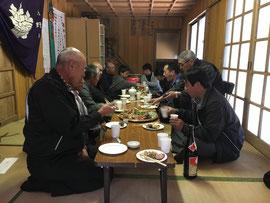 熊野神社 直会