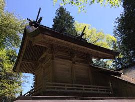 印賀 樂樂福神社本殿