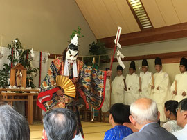 宣揚祭 神樂舞