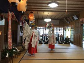 大石見神社 秋季大祭