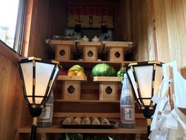 袋原神社の神饌