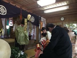 宮市神社の七五三詣祈願祭